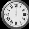 Horloge Midi 1400